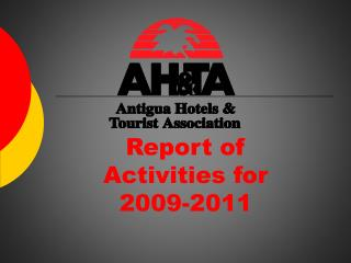 Report of  Activities for  2009-2011