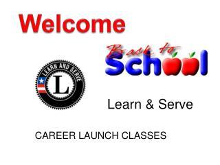Learn & Serve