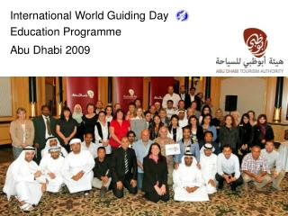 International World Guiding Day Education Programme Abu Dhabi 2009