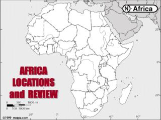 AFRICA LOCATIONS and REVIEW
