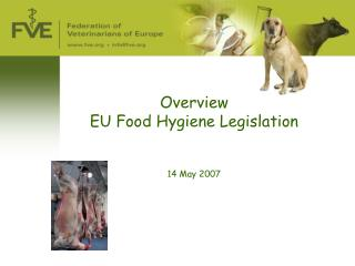 Overview  EU Food Hygiene Legislation 14 May 2007
