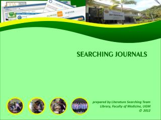 SEARCHING JOURNALS
