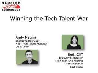 Winning the Tech Talent  War