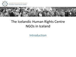 The Icelandic Human Rights Centre NGOs in Iceland