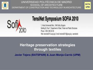 Heritage preservation strategies through textiles