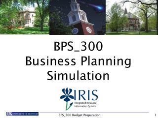 BPS_300 Business Planning Simulation
