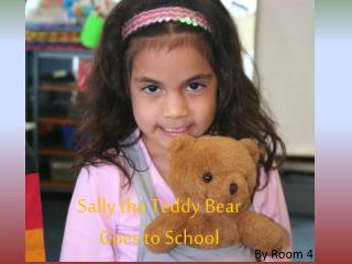 Sally the Teddy Bear  Goes to School