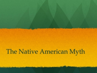 Native American Creation Stories  from the Southwestern United States