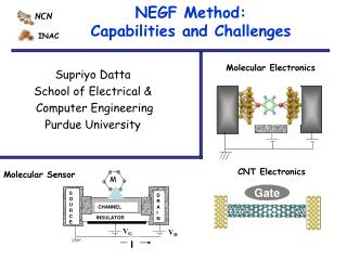 NEGF Method: Capabilities and Challenges