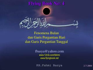 Flying Book No: 4