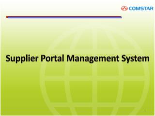 Supplier Portal Management System