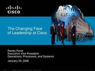 The Changing Face of Leadership at Cisco