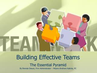 Building Effective Teams