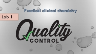 Quality Control for Clinical Interpretation