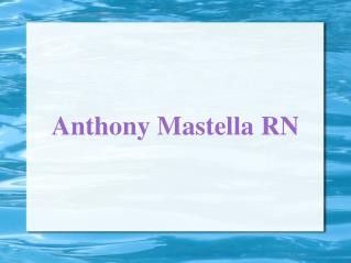 Anthony Mastella