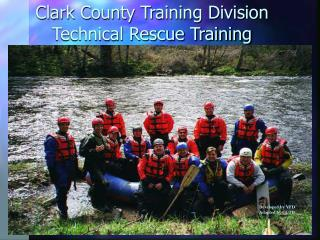 Clark County Training Division Technical Rescue Training