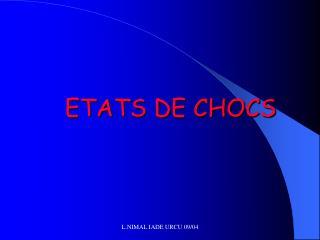 ETATS DE CHOCS