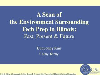 A Scan of the Environment Surrounding Tech Prep in Illinois: Past, Present & Future