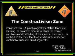 The Constructivism Zone