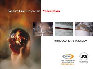 Passive Fire Protection   Presentation