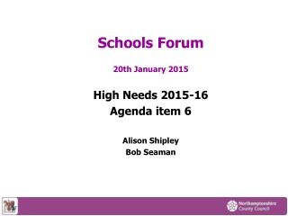 Schools Forum