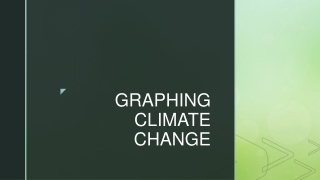 GRAPHING CLIMATE CHANGE