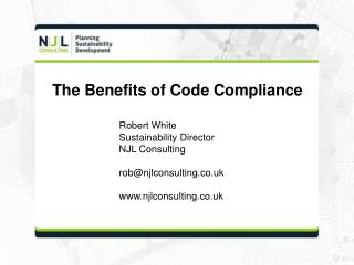 The Benefits of Code Compliance