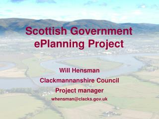 Scottish Government ePlanning Project