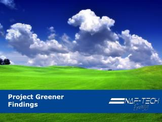 Project Greener Findings