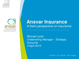 Ansvar Insurance A fresh perspective on insurance