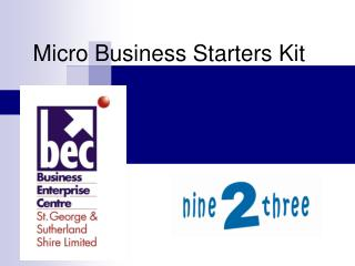 Micro Business Starters Kit