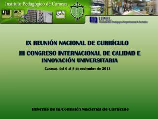 III CONGRESO INTERNACIONAL DE CALIDAD E INNOVACIÓN UNIVERSITARIA
