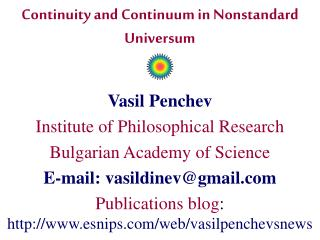 Continuity and Continuum in Nonstandard Universum