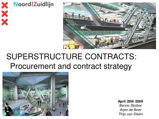 SUPERSTRUCTURE CONTRACTS: Procurement and contract strategy