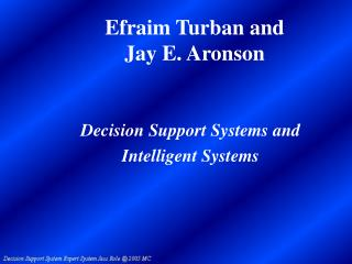 Efraim Turban and  Jay E. Aronson