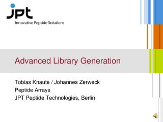 Advanced Library Generation