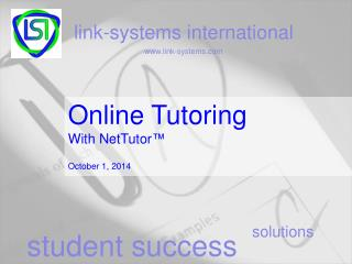 Online Tutoring With NetTutor ™