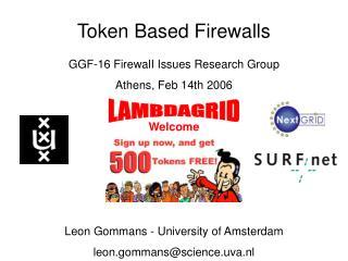Token Based Firewalls