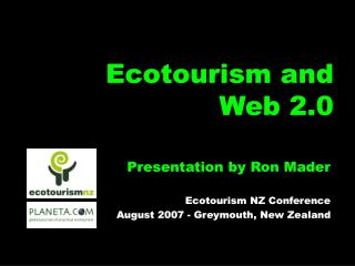 Ecotourism and Web 2.0