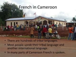 French in Cameroon