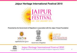Jaipur Heritage International Festival 2010