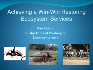 Achieving a Win-Win Restoring Ecosystem Services