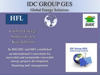 Global Energy Solutions for Kazakhstan