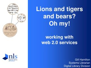 Lions and tigers  and bears? Oh my! working with  web 2.0 services