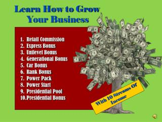 Learn How to Grow  Your Business