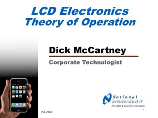 LCD Electronics Theory of Operation