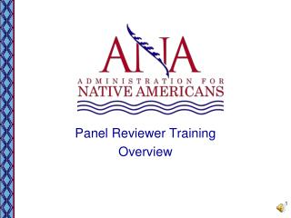 Panel Reviewer Training Overview