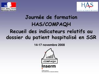 Journée de formation  HAS/COMPAQH