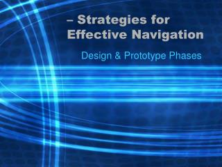 – Strategies for Effective Navigation
