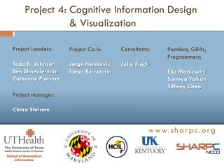 Project  4: Cognitive Information Design  & Visualization